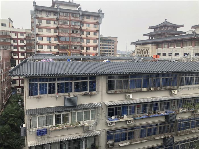 西安蓮湖(hu)區老舊(jiu)小(xiao)區屋面