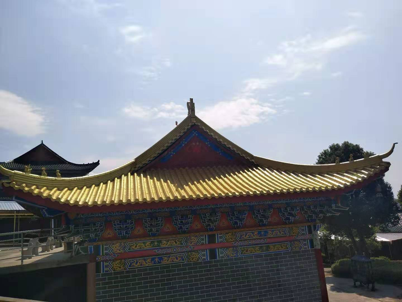 鋁鎂錳寺廟瓦